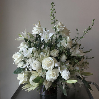 Luxe White Arrangement