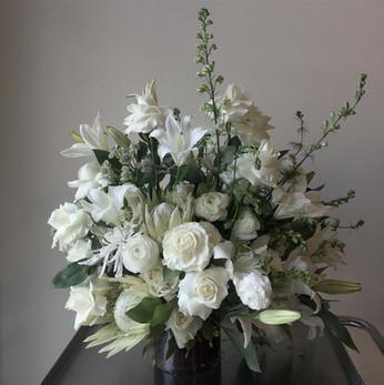 Luxe White Arrangement