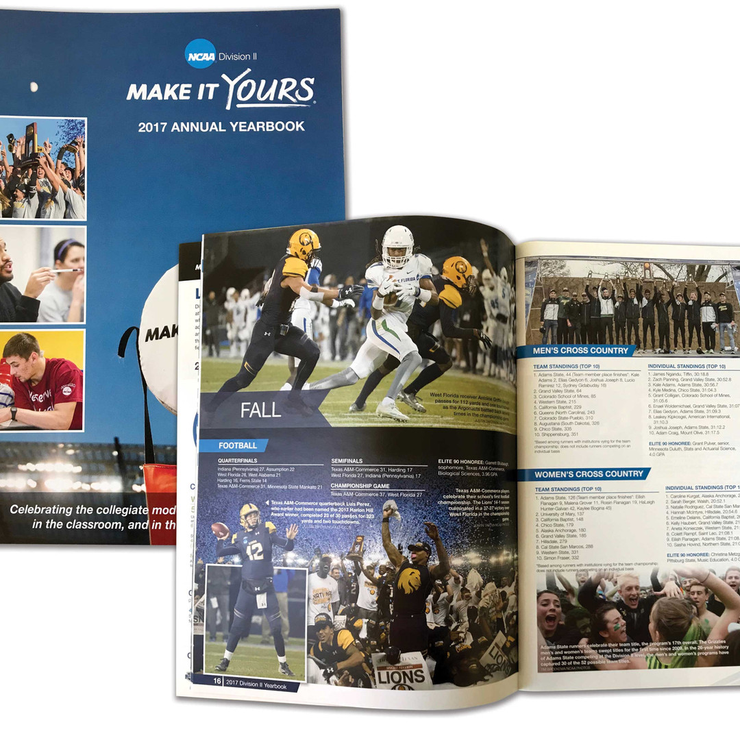 2017 NCAA Division II Yearbook