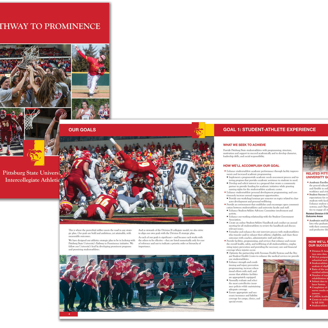 Pittsburg State Athletics Strategic Plan