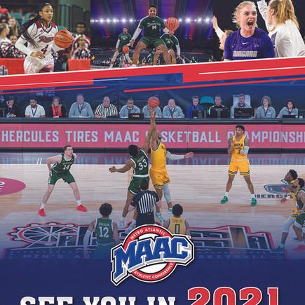 MAAC Basketball Flyer