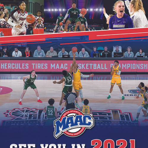MAAC Basketball Flyer