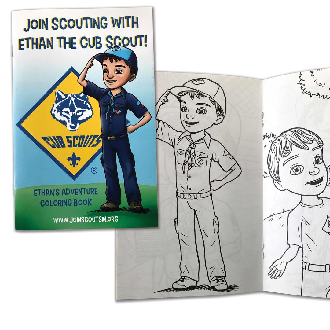 Cub Scouts Coloring Book