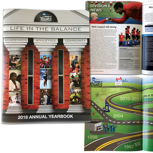 2018 NCAA Division II Yearbook