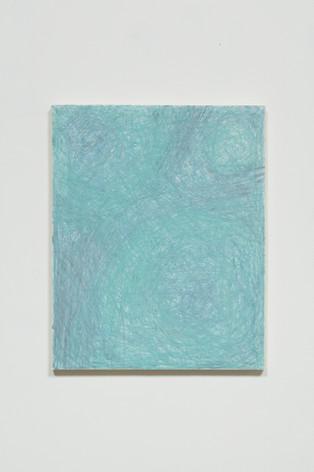 Untitled (Blue-Teal Vibration)