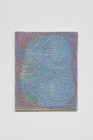 Untitled (Blue-Grey-Purple Vibration)