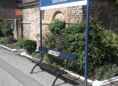 New heritage benches for Driffield station