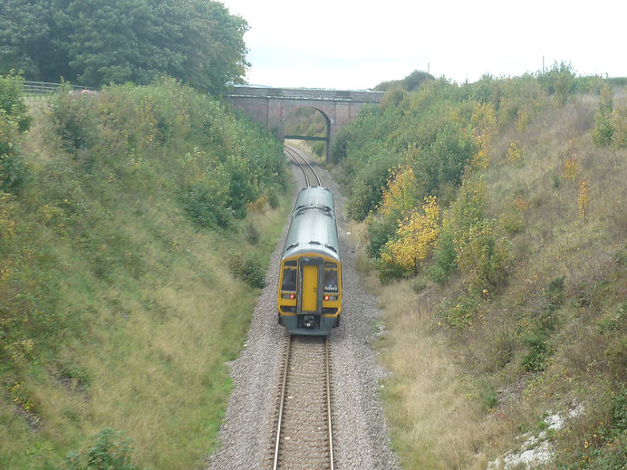 train near Hunmaby