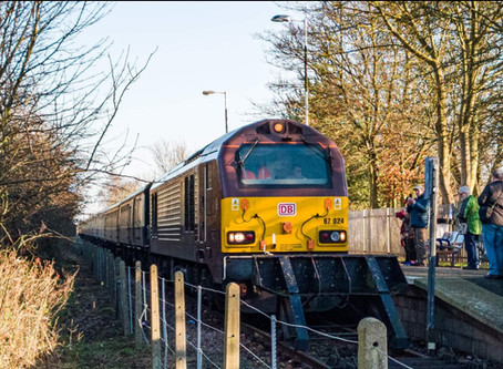 Rail tour comes to Barton