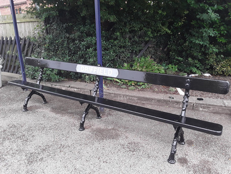 Restoration of heritage bench