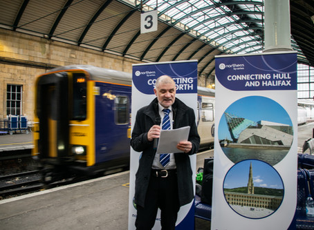 Launch of new Hull to Halifax service