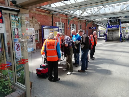 Station event at Bridlington