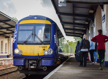 New timetable and new trains
