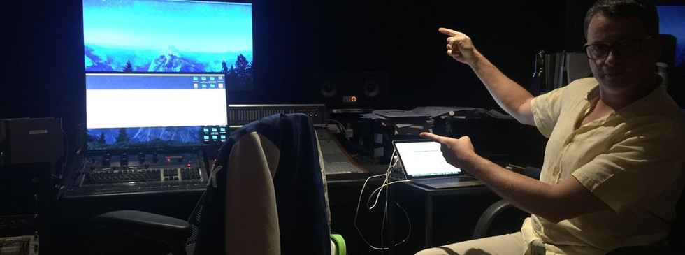 """Directing - adr session for """"Final Score"""""""