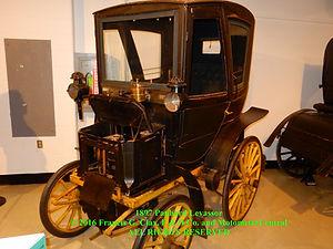 1897 Panhard Levassor Angled Front Left Side View on MotometerCentral.com