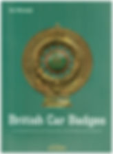 Jan Sarnesjo's British Car Badge Book -Front Cover on MotometerCentral.com
