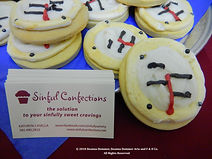 """Sinful Confections """"Motometer"""" Cookies on MotometerCentral™.com"""