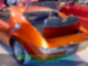"1966 AMX Prototype Two Passenger ""Ramble"" Seat  Rear View on MotometerCentral.com"