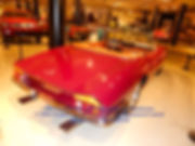 1967 Ferrari 365 California Spyder Rear View on MotometerCentral.com