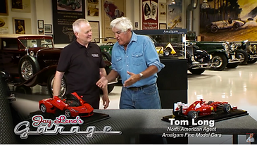Almagam Fine Model Cars on Jay Leno's Ga