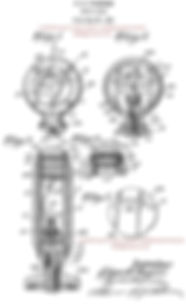 Edgar Fageros Motor Gauge Indicator Patent Drawing on MotometerCentral.com™