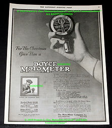 BMM AD 1917 Saturday Evening Post Copyri