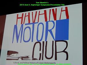 Tom Adamich's Presentation Title Slide on MotometerCentral.com