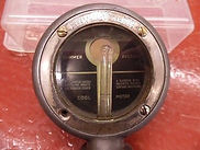 Second Nyberg Fantasy Reproduction Boyce Motometer Dial Plate - Rear View- Close-Up