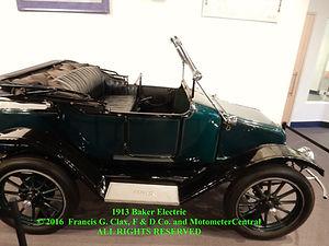 1913 Baker Electric on MotometerCentral.com