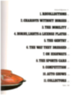 """Ralph Stein's """"The World of Automobiles"""" Table of Contents Page on MotometerCentral.com"""