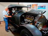 "Wayne Carini ""Chasing Classic Cars and his 1922 Stutz BarCat on MotometerCentral.com"
