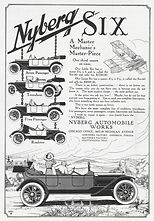 1912 Nyberg Automobile Works Ad