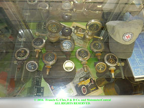 TMC Museum Motometer Collection Display.