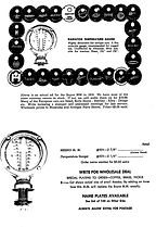 Harry Pulfer Reproduction Moto-Meter Dial plates Catalog Page 37