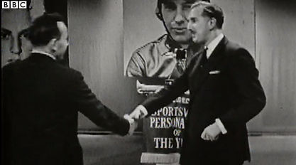 John Surtees Accepting the 1959 BBC Sports Personality of the Year Award Video on MotometerCentral.com