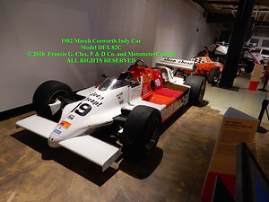 1982 March Cosworth Indy Car on MotometerCentral.com