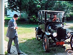 "Model T with Motometer from ""The Great Gatsby"" (1974 on MotometerCentral.com"