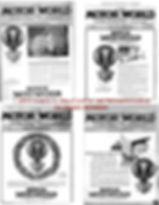Motor World journal Boyce Moto-Meter 1922 Cover Pages on MotometerCentral.com