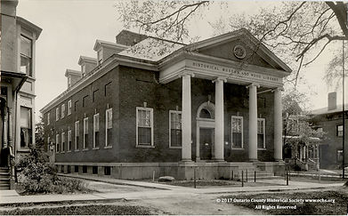 Ontario County Historical Society Museum in 1914 on MotometerCentral™.com