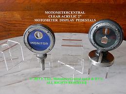 MotometerCentral Acrylic Display Pedesta