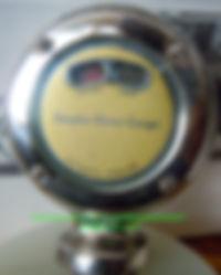 Simplex Motor Gauge Temp Indicator Panel Rear Side View on MotometerCentral.com™