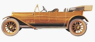 1914 Nyberg Tourabout Motor Car Image