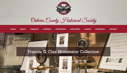 F Clax Motometer Exhibition OCHS Website