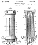 Harry Vissering 1933 Indicator Patent Dr