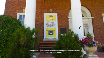 Motometer Exhibition OCHS Window Banner