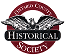 Ontario County Historical Society Museum Logo - Website Home Page Link