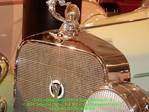 1932 Cadillac Model 355-B Sport Phaeton V - 8  Mascot on MotometerCentral.com