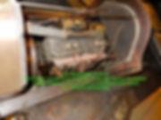 1911 Hupmobile World Tour Car Engine Bay on MotometerCentral.com