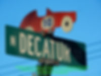 Decatur Str Auto Sign Post Watkins Glen on MotometerCentral.com