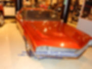 """1966 AMX Prototype Two Passenger """"Ramble"""" Seat Right Side View on MotometerCentral.com"""